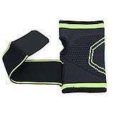 Еластичний бинт на руку високоеластичний бандаж для фітнесу пов'язка на зап'ясті бандаж для занять в тренажерному залі, фото 10