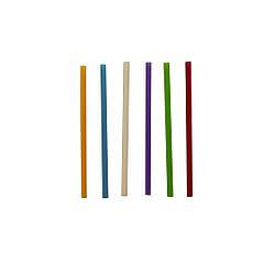 Трубочки Ассорти прямые 12,5 см 200 шт