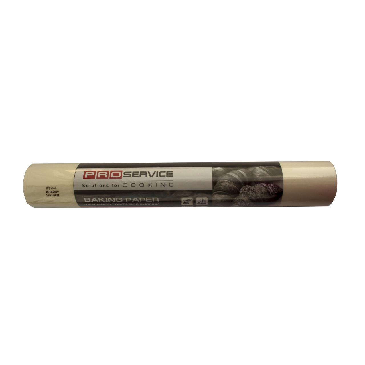 Папір пергаментний PRO-1300 біла 50м*38см рулон силікон д/випічки