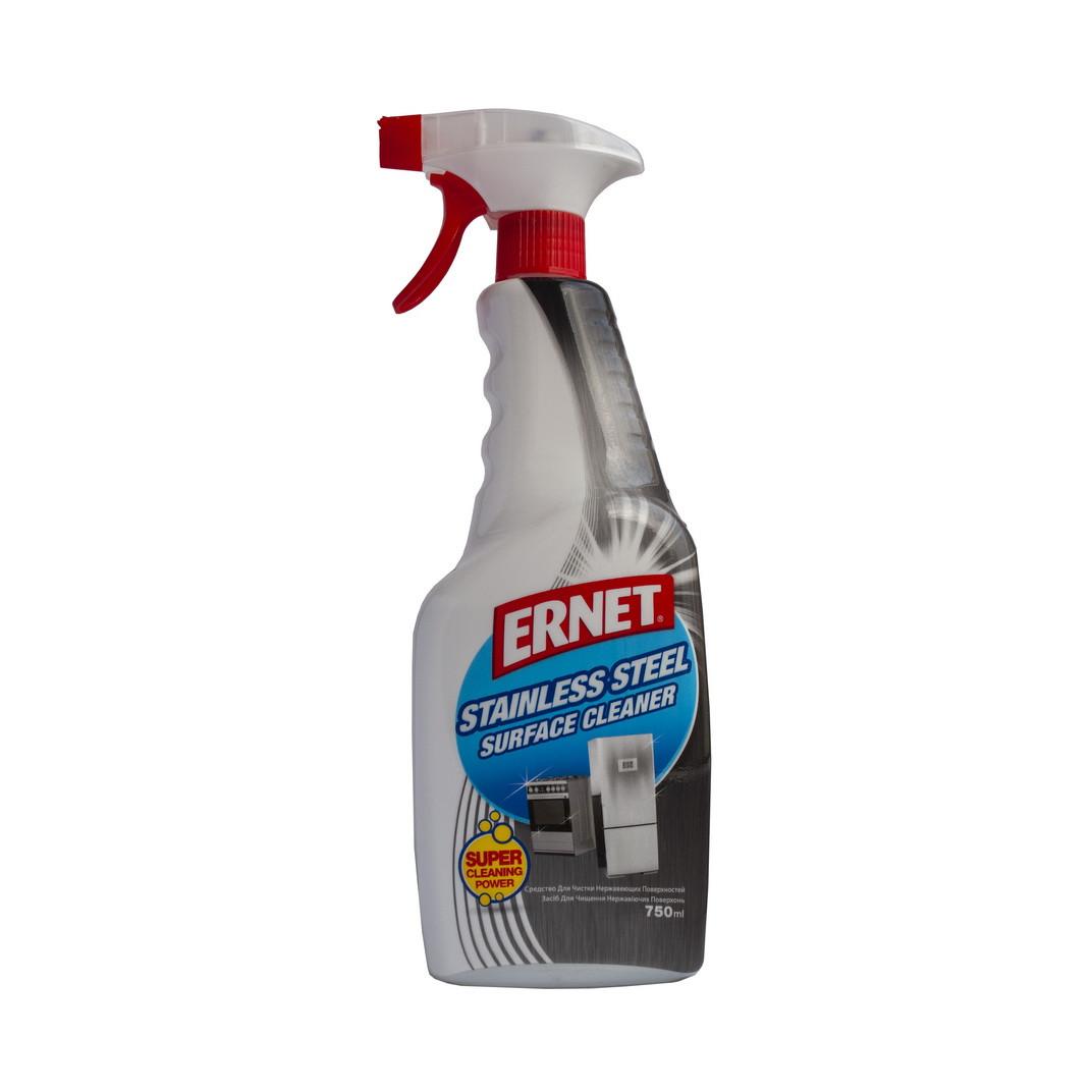 ERNET средство для чистки нержавеющих поверхностей 750 мл