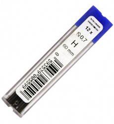 Грифель 0,7 мм НВ 12 шт для механ. карандаша