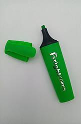 Маркер для выделения текста зелёный  JH 700