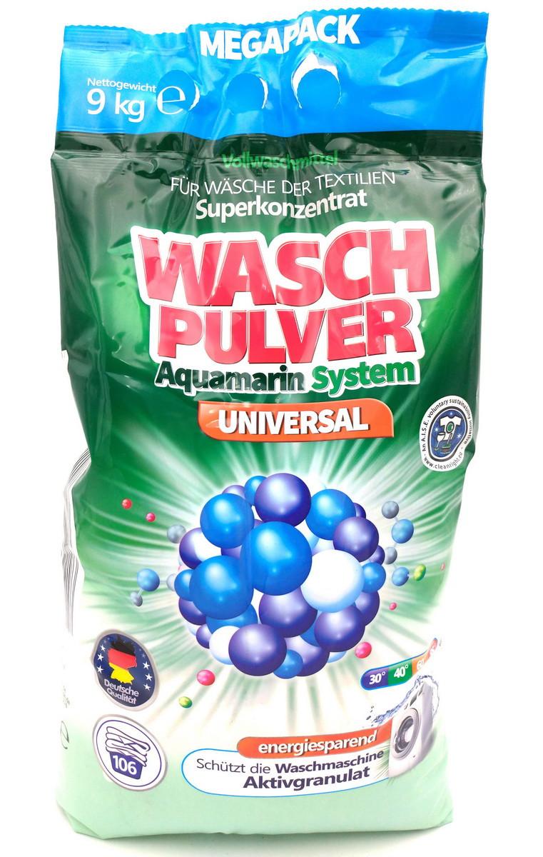 """Порошок стиральный """"WASH"""" Pulwer 9000 гр автомат"""