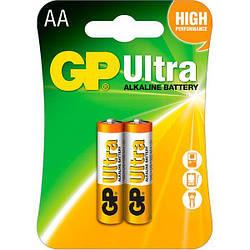 Батарейка GP Ultra LR-06 AA по 2шт на блистере