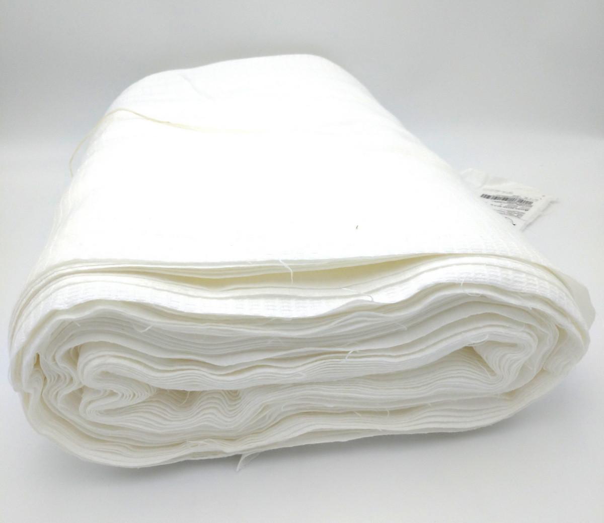 Ткань вафельная отбеленная  ш, 45 0932 120 г/м,кв