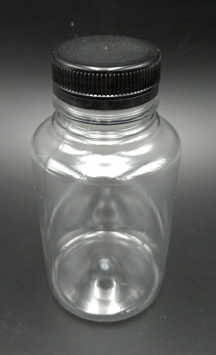 Бутылка прозрачная 0,25 л + крышка 38 мм