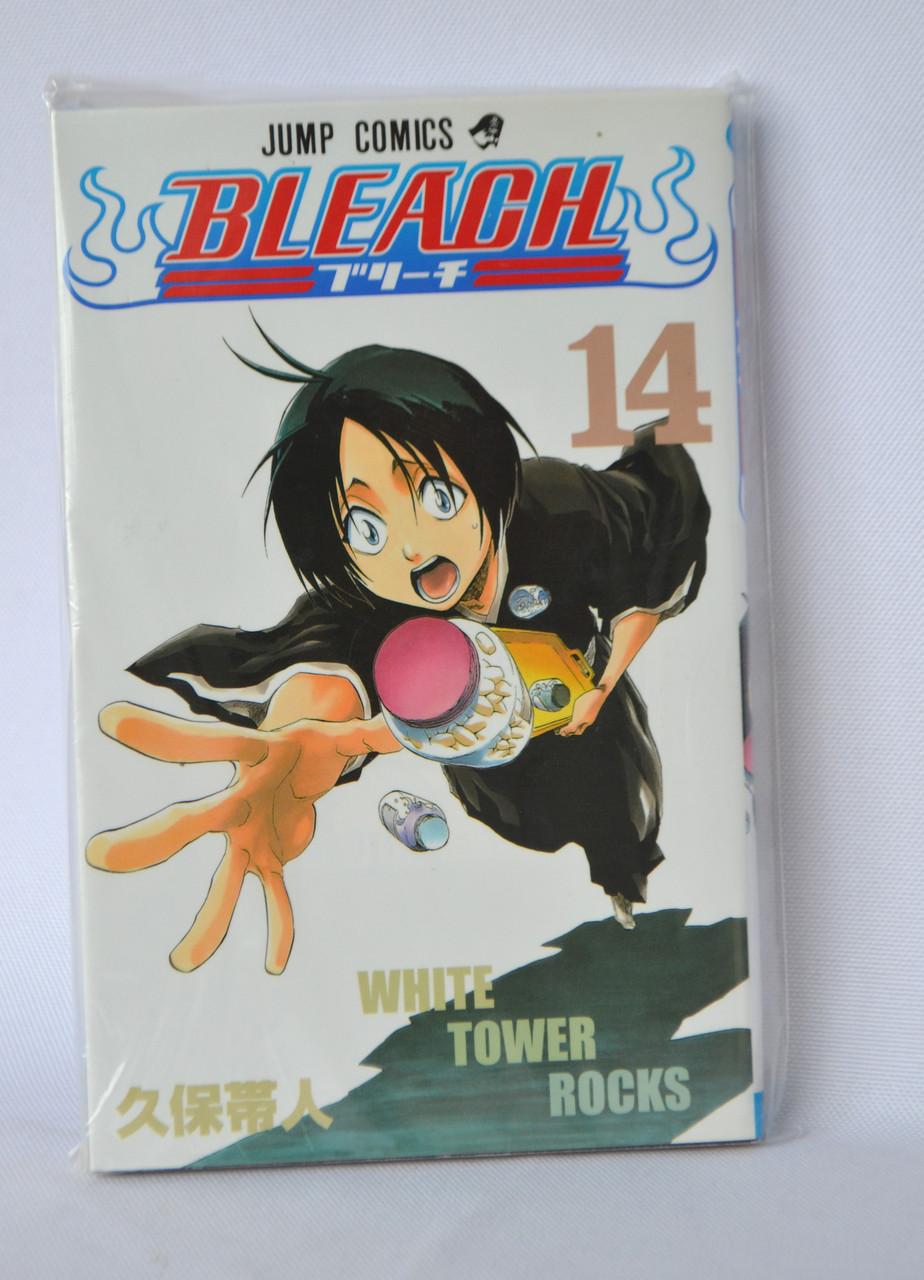 """Манга на японській мові """"Bleach. Том 14""""."""