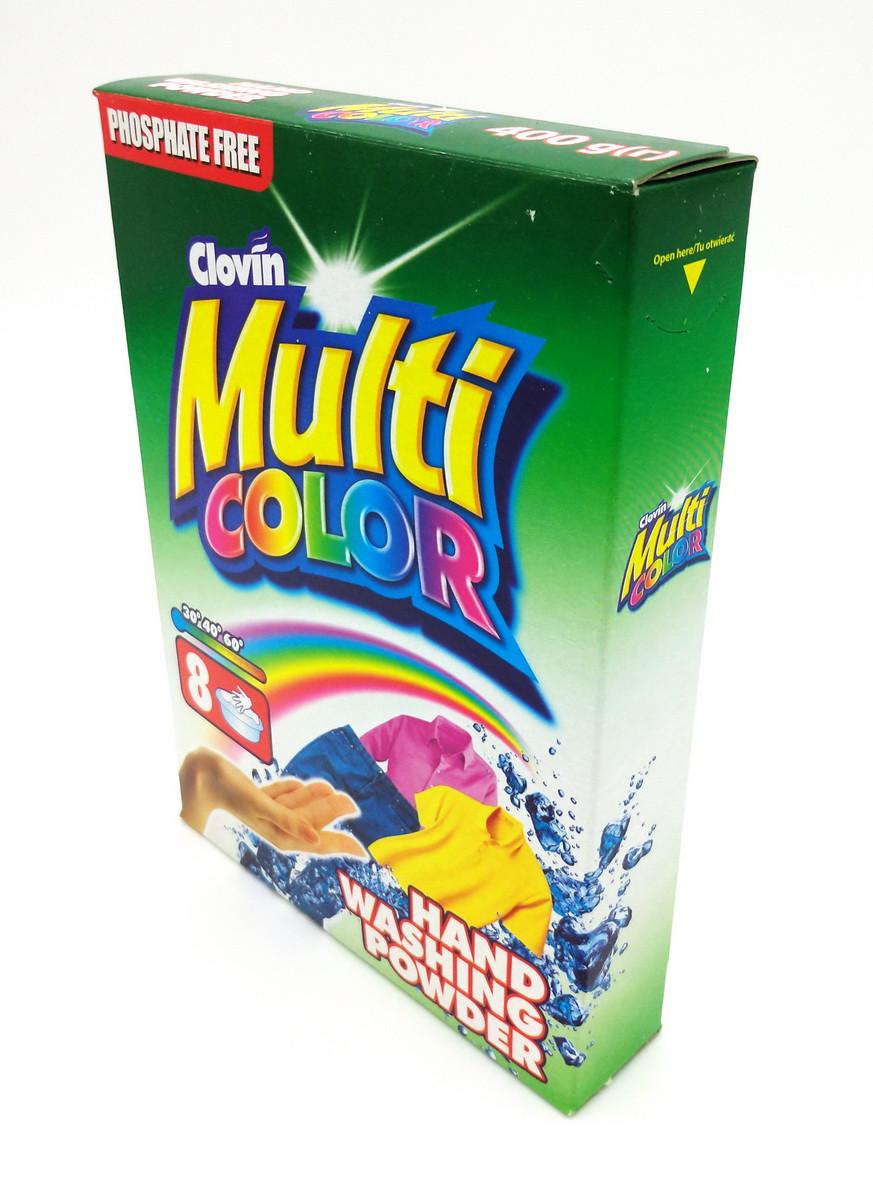 Стиральный порошок MULTICOLOR ручная стирка 400 г