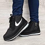 Жіночі зимові черевики на блискавку + шнурівку (БТ-12ч), фото 2