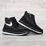 Жіночі зимові черевики на блискавку + шнурівку (БТ-12ч), фото 3