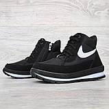Жіночі зимові черевики на блискавку + шнурівку (БТ-12ч), фото 4