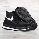 Жіночі зимові черевики на блискавку + шнурівку (БТ-12ч), фото 5