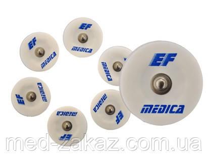 Електрод ЕКГ EF Medica F 30 SG з адгезійною піни 30 мм твердий гель 62.030.01 (30 штук)