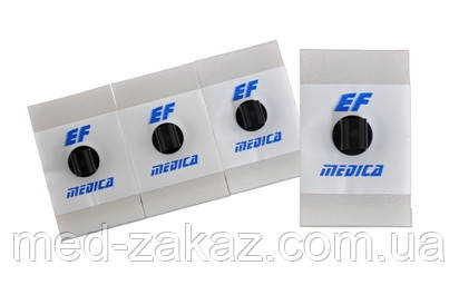 Електрод ЕКГ EF Medica F 2844 LG з адгезійною піни 28x44 мм рідкий гель 62.028.02 (50 штук)