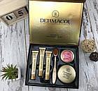 ОПТ Косметичний набір Dermacol Make-up 6 в 1 (тональний крем, пудра, рум'яна) зі щіточкою подарунковий нвбор, фото 6