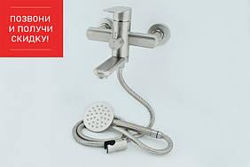 Смеситель в ванную Mixxus Eva 009 из нержавеющей стали