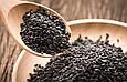 Кунжут чорний Преміум 200г Індія, Насіння кунжуту натурального чорного сезаму, фото 2