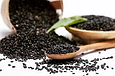 Кунжут чорний Преміум 200г Індія, Насіння кунжуту натурального чорного сезаму, фото 5