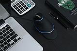 Провідна вертикальна миша з підсвічуванням Delux M618 Plus Blue, фото 6