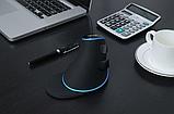 Провідна вертикальна миша з підсвічуванням Delux M618 Plus Blue, фото 10