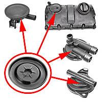 Мембрана КВКГ VAG 038103469AA, Mercedes 6060100091, Opel 24414343, фото 1