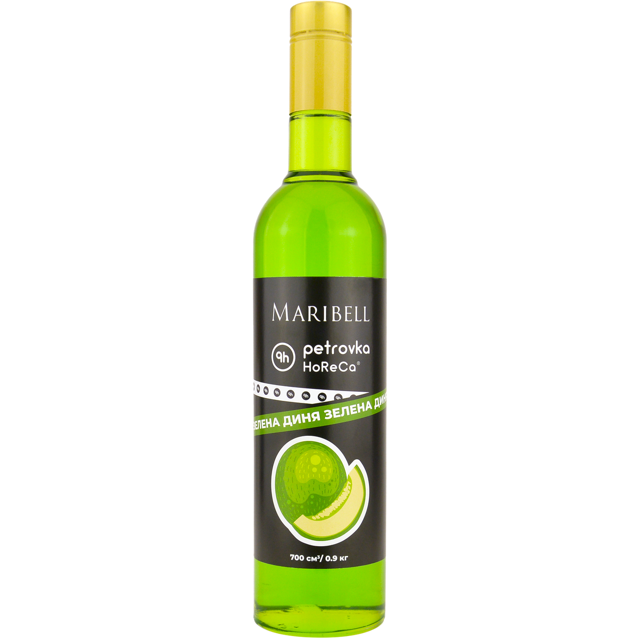 Сироп коктейльный 'Зеленая дыня' Maribell-Petrovka Horeca 700мл