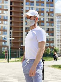 Дизайнерская защитная маска Vitaliy Sakhno голографическая