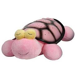 Музичний нічник-проектор Snail Twilight з USB-кабелем Pink 200300 ZZ, КОД: 353001