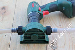 Помпа на дрель для перекачки выкачки 40 л/мин