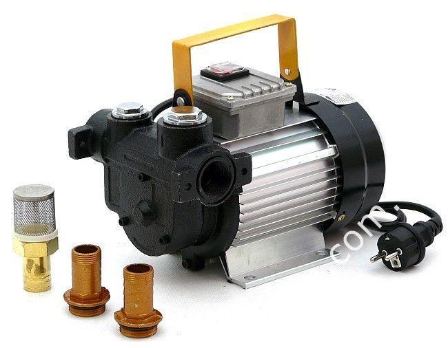 Насос для перекачки дизельного топлива 220 В 550 Ватт (усиленный)