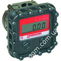 Електронний лічильник MGE 40 для дизельного палива, масла, 2-40 л/хв
