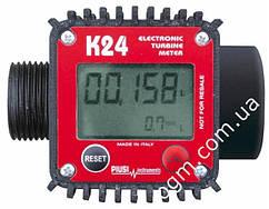 Електронний лічильник К24 для дизельного палива, бензину, масла, 7-120 л