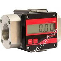 Електронний лічильник великого протоку MGE 400 для дизельного палива, масла, 15-400 л/хв