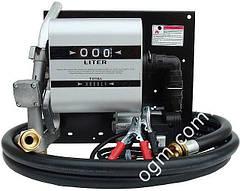 Топливораздаточная колонка заправки дизельного топлива с расходомером WALL TECH 40, 220В, 40 л/мин