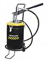 Солидолонагнетатель ручной переносной с колесами PROLUBE 10 кг