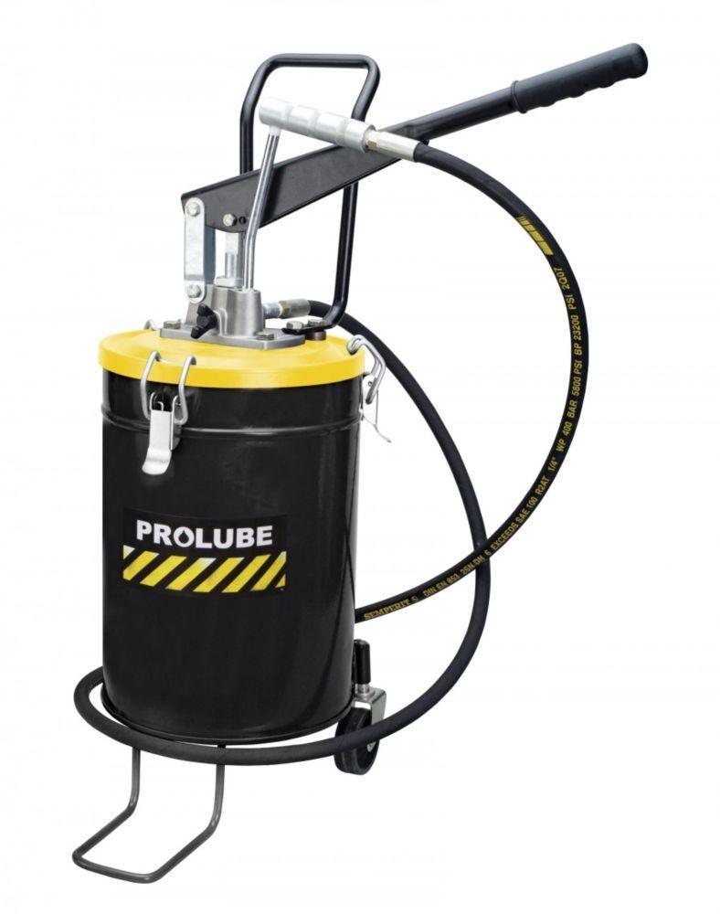 Нагнітач змазки ручний переносний з колесами PROLUBE 10 кг