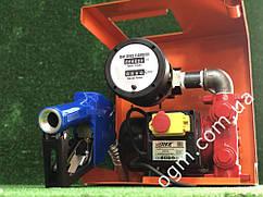 Мини азс для перекачки дизеля Verke cо счетчиком OGM 25