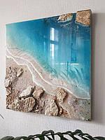 Уроки з малювання картин в морських техніках РезинАрт - підбірка відео МК