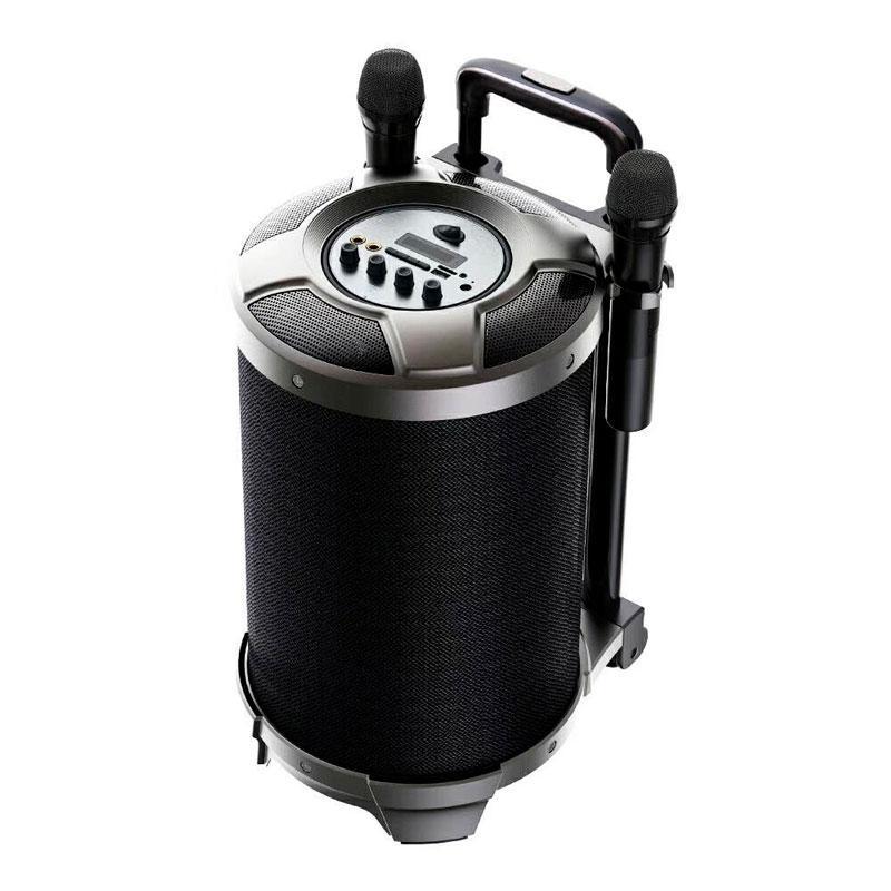 Беспроводная портативная Bluetooth колонка караоке чемодан с микрофоном REMAX RB-X6 51W 4hours 4400mAh BT5.0