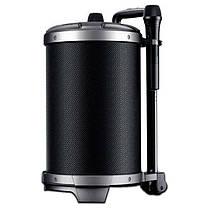 Беспроводная портативная Bluetooth колонка караоке чемодан с микрофоном REMAX RB-X6 51W 4hours 4400mAh BT5.0, фото 2