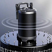 Беспроводная портативная Bluetooth колонка караоке чемодан с микрофоном REMAX RB-X6 51W 4hours 4400mAh BT5.0, фото 3