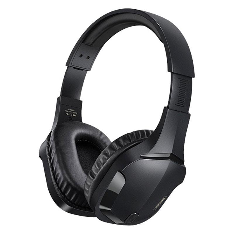 Бездротові ігрові навушники Bluetooth гарнітура REMAX RB-750HB Black
