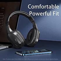 Бездротові ігрові навушники Bluetooth гарнітура REMAX RB-750HB Black, фото 3
