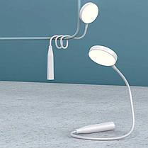 Настільна лампа LED бездротова REMAX RT-L01 акумуляторна з гнучкою ніжкою, фото 3