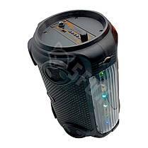 Беспроводная портативная Bluetooth колонка с микрофоном KIMISO QS-4606 радио бумбокс Speaker USB 1800mA, фото 3