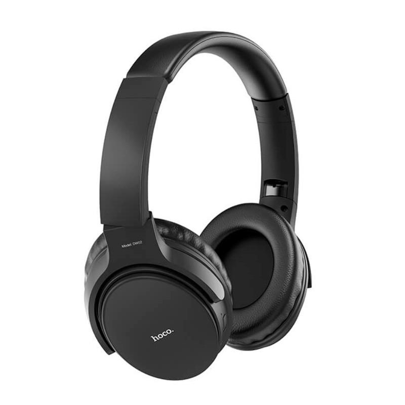 Беспроводные наушники Bluetooth гарнитура HOCO Foldable headphones DW02 BT5.0, TF, AUX, 4Hours накладные
