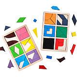 Квадраты Никитина Сложи квадрат уровень 3. 12 квадратов Komarovtoys (А392), фото 3