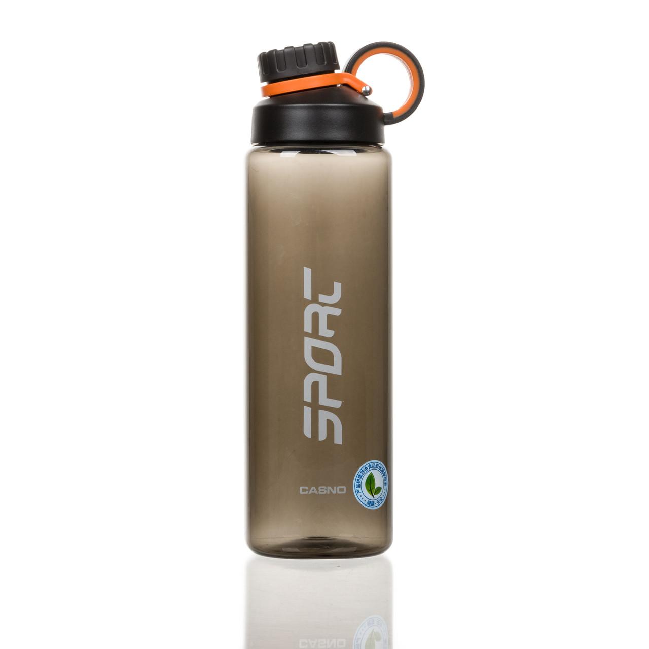 Пляшка для води CASNO 1000 мл KXN-1243 Сіра