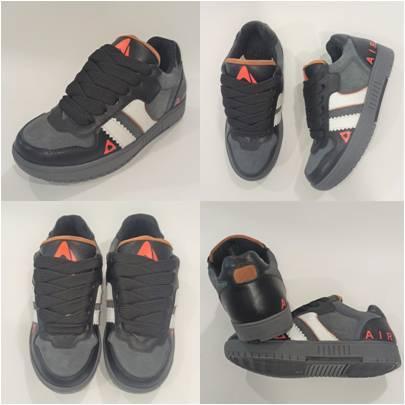 Замшевые кроссы в стиле Adidas