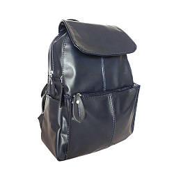 Рюкзак жіночий шкіряний Betty Pretty Синій